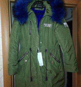 Куртка зимняя женская.Новая.