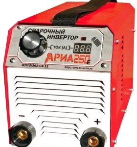 Инверторный сварочный аппарат АРИА 250Е