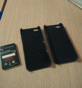 Два чехла на айфон 5s
