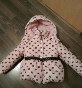 Куртка для девочки весна-осень