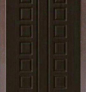 Дверь входная с панелью Венге