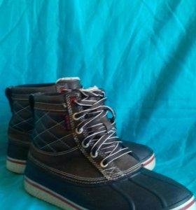 Ботинки мужские Crocs m7 осень-зима
