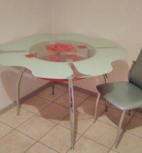 Обеденный стол Ромашка