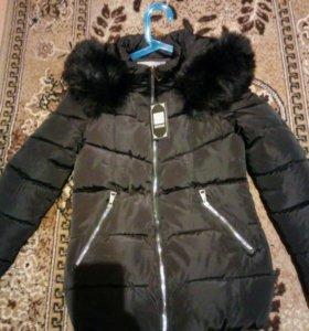 Теплая куртка, новая.