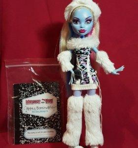 Кукла Эбби Боминейбл (AbbeyBominable) Monster high