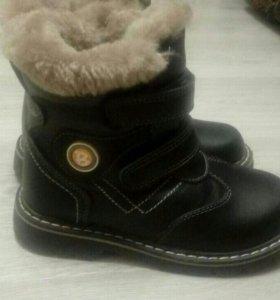 Ботинки зимние. .