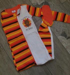 Пижама для мальчика. Новая. Фирма childrensplace