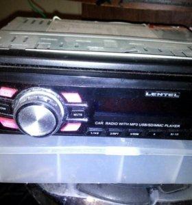 Авто магнитола LENTEL 4x55w