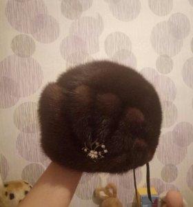 Норковая шапка (женская)