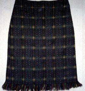 Теплая юбка зима
