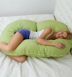 Подушка-рогалик для беременных