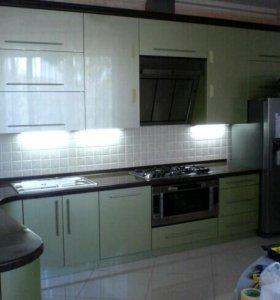 Кухонный гарнитур мдф крашенный