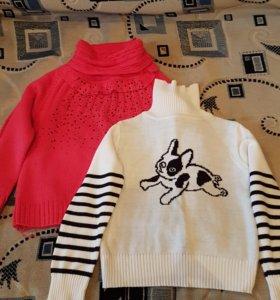 Два свитера на 4-5 лет.