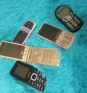 Старые телефонв