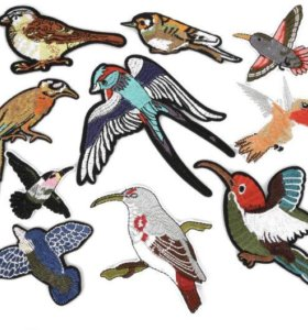 Патчи патч нашивка птички