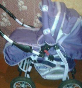 Детская коляска+Сумка переноска,дождевик,накомарни
