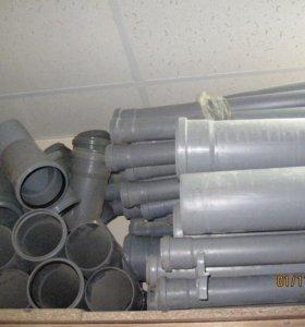 Трубы и фитинги ПВХ канализация