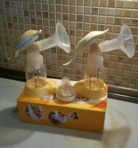Молокоотсос Medela Harmony 2шт