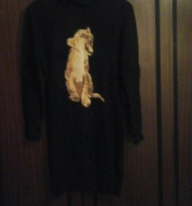 Новое платье свитер
