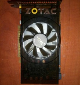 Видеокарта Zotac gtx 550Ti