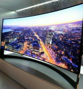 Жк Телевизор изогнутый 48 диагональ wifi