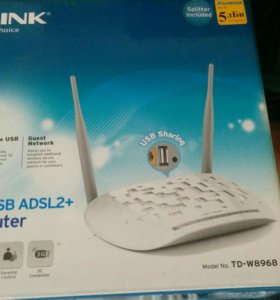 Маршрутизатор ADSL2+ TP-LINK TD-W8968