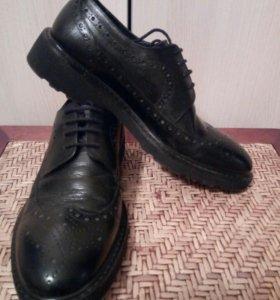 Обувь кожаная мужская Freccia.