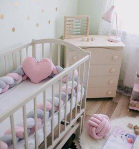 Бортики и Интерьерные подушки