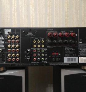 Ресивер Pioneer VSX-820 K с колонками