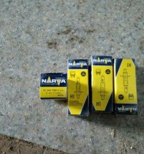 Лампы автомобильные 24v( H1,H3,H4 )