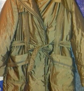 Куртка пальто плащ пуховик