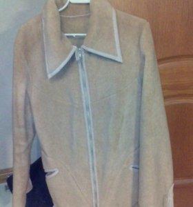 куртка на искусственном меху