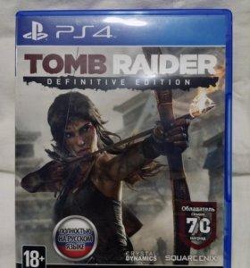 Tomb Raider Definitive edition игра для PS4