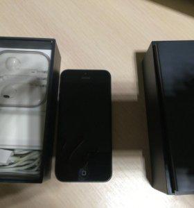 Айфон 5 16 гигов чёрный оригинал