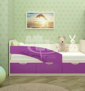 """""""Дельфин""""-кровать"""
