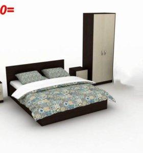 Набор мебели для спальни рон-да
