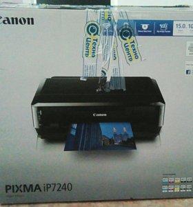 Цветной принтер Canon Pixma7240