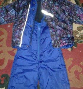 Куртка с комбинезоном