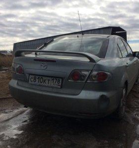 Двери, крышка багажника Mazda 6 gg