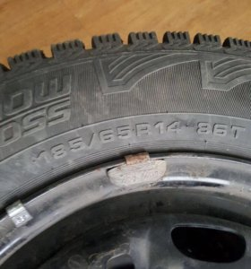 Зимние колёса на фольксваген поло.
