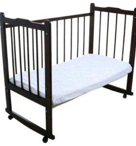 Детская кровать - маятник