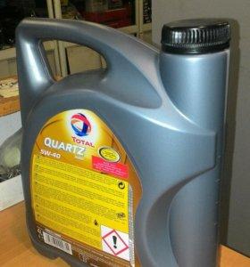 Масло полная синтетика 5W-40 Total QVARTS 9000