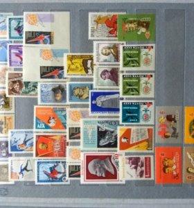 Годовой выпуск марок СССР 1962 г. (чистые **)
