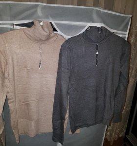 Платья, туники, свитерки в наличии. Цены разные.