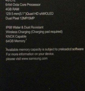 Телефон. Samsung Galaxy s7
