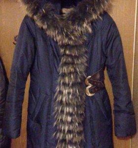 Пальто зимнее ( пуховик)