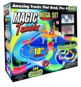 Гоночный трек Magic Tracks Mega Set 360 деталей