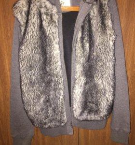 Куртка утеплённая 44-46 размер
