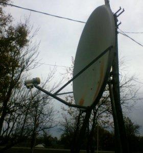 Спутнекавая антена