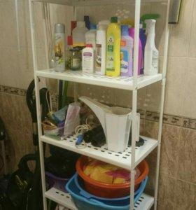 Стеллаж для ванной lkea